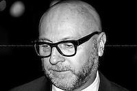 Domenico Dolce, Italian fashion designer.