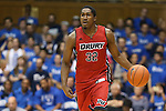 02 November 2013: Drury's Wendell Pierre. The Duke University Blue Devils played the Drury University Panthers in a men's college basketball exhibition game at Cameron Indoor Stadium in Durham, North Carolina. Duke won the game 81-65.