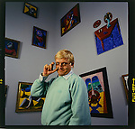 The artist David Hockney @ LACMA