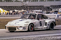 #6 Porsche 935 of  Dick Barbour, Manfred Schurti, and Johnny Rutherford 2nd place finish, 1978 24 Hours of Daytona, Daytona International Speedway, Daytona Beach, FL, February 5, 1978.  (Photo by Brian Cleary/www.bcpix.com)