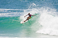 Sally Fitzgibbons (AUS) SNAPPER ROCKS, Queensland/Australia (Saturday, March 6, 2010) - Stephanie Gilmore (AUS), 22, reigning three-time ASP Women's World Champion and defending event winner, has taken out the 2010 Roxy Pro Gold Coast in punchy two-to-three foot (1 metre) waves at Snapper Rocks over fellow Finalist Melanie Bartels (HAW), 27...The opening event of the 2010 ASP Women's World Tour season, the Roxy Pro Gold Coast enjoyed an exciting final day of competition, culminating in Gilmore's emphatic win in front of a raucous hometown crowd..In a déjà vu version of last year's event, the Australian and Hawaiian squared off once again in the Final, with Gilmore taking the win and the dream start to her 2010 campaign for a fourth ASP Women's World Title... Today's win marks the 3rd win on the Gold Coast for the young Australian (2005, 2009, 2010), giving the natural-footer the record for most event wins at the Roxy Pro Gold Coast. Coco Ho (HAW), 19, 2009 ASP Women's World Tour Rookie of the Year, put in a solid campaign at the Roxy Pro Gold Coast, before going down to Gilmore in this morning's Semifinals. Posting an Equal 3rd in the opening event of the season, Ho has established herself as a major contender in the hunt for the ASP Women's World Title. Chelsea Hedges (AUS), 26, former ASP Women's World Champion (2005), saw a sensational return to form throughout the course of the Roxy Pro Gold Coast, but fell short against Bartels in today's Semifinals..Photo: joliphotos.com