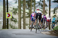 Liege-Bastogne-Liege 2012.98th edition..going down again on top of the Stockeu
