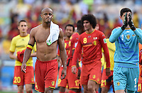 FUSSBALL WM 2014  VORRUNDE    Gruppe H     Belgien - Algerien                       17.06.2014 Vincent Kompany (Belgien) nach dem Abpfiff