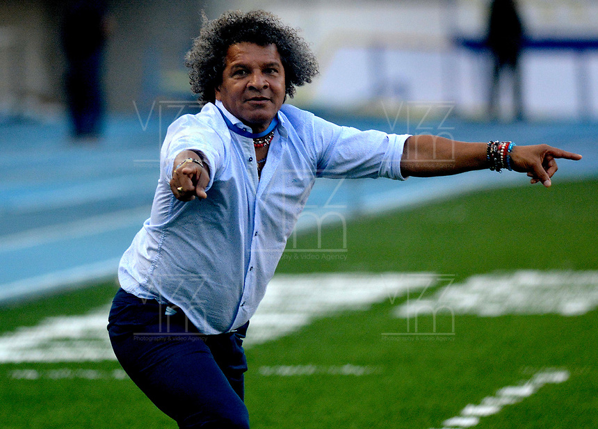 BARRANQUILLA- COLOMBIA -18-03-2017: Alberto Gamero, técnico de Atletico Junior, durante partido de la fecha 10 entre Atletico Junior y Once Caldas, por la Liga Aguila I-2017, jugado en el estadio Metropolitano Roberto Melendez de la ciudad de Barranquilla. / Alberto Gamero, coach of Atletico Junior, during a match of the date 10, between Atletico Junior and Once Caldas, for the Liga Aguila I-2017 at the Metropolitano Roberto Melendez Stadium in Barranquilla city, Photo: VizzorImage / Alfonso Cervantes / Cont.