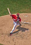 28 July 2013: Washington Nationals rookie pitcher Taylor Jordan on the mound against the New York Mets at Nationals Park in Washington, DC. The Nationals defeated the Mets 14-1. Mandatory Credit: Ed Wolfstein Photo *** RAW (NEF) Image File Available ***