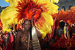 The 43rd Annual West Indian Day Parade held along Eastern Parkway in Brooklyn, New York
