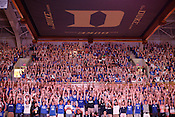 Around 4,500 Duke fans and students gathered inside Cameron Indoor Stadium to watch the NCAA championship game against the Butler Bulldogs, Mon., April 5, 2010. Duke defeated Butler 61-59 in a breathtaking finish to an unexpected championship season, the fourth for the university and Head Coach Mike Krzyzewski.