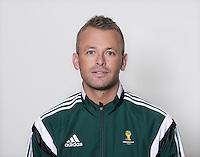 FUSSBALL Fototermin FIFA WM Schiedsrichter  09.04.2014 Svein Oddvar MOEN (Norwegen)