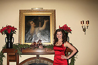 LOS ANGELES - DEC 17:  Heather Tom at the 2011 Tom / Achor Annual Christmas Party at Private Home on December 17, 2011 in Glendale, CA