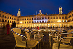 Plaza Espana Square, Vitoria - Gasteiz, Basque Country, Spain