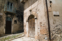 Gran Sasso National Park, Abruzzo, Italy, June 2008. The medieval village of Calascio. Photo by Frits Meyst/Adventure4ever.com