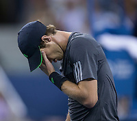 ANDY MURRAY (GBR)<br /> The US Open Tennis Championships 2014 - USTA Billie Jean King National Tennis Centre -  Flushing - New York - USA -   ATP - ITF -WTA  2014  - Grand Slam - USA  <br /> <br /> 3rd September 2014 <br /> <br /> &copy; AMN IMAGES
