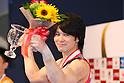 Kohei Uchimura (JPN), JULY 3, 2011 - Artistic gymnastics : Japan Cup 2011 Men's Individual All-Around Competition Victory Ceremony at Tokyo Metropolitan Gymnasium, Tokyo, Japan. (Photo by YUTAKA/AFLO SPORT) [1040]