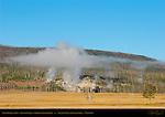 Geothermal Mist, Geyser Creek, Gibbon Geyser Basin, Yellowstone National Park, Wyoming