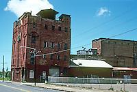 Honolulu: Honolulu Brewing & Malting Co., 1900. 553 Queen St. Facing demolition when picture taken. Photo '82.