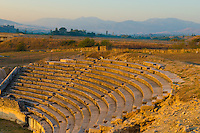 Amphitheater at Stobi, 2000 year old town in Southern Macedonia