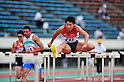 File Photo showing Akihiko Nakamura (JPN) who was selected as a member of the 39 strong Japan London Olympic 2012 Track & Field team announced on June 11th, 2012. Picture shot on JULY 8, 2011 - Athletics :The 19th Asian Athletics Championships Hyogo/Kobe, Men's Decathlon 110mH at Kobe Sports Park Stadium, Hyogo ,Japan. (Photo by Jun Tsukida/AFLO SPORT) [0003]