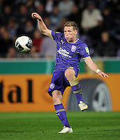 FUSSBALL   DFB POKAL   SAISON 2011/2012  1. Hauptrunde VfL Osnabrueck - TSV 1860 Muenchen                29.07.2011 Florian RIEDEL (VfL Osnabrueck) Einzelaktion am Ball