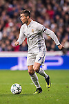 Cristiano Ronaldo of Real Madrid in action during the 2016-17 UEFA Champions League match between Real Madrid and Borussia Dortmund at the Santiago Bernabeu Stadium on 07 December 2016 in Madrid, Spain. Photo by Diego Gonzalez Souto / Power Sport Images
