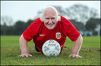 Britain's oldest footballer looking for new club.