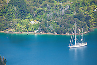 Perfect sailing in Marlborough Sounds. (Photo by Travel Photographer Matt Considine)
