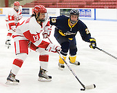 Kaleigh Fratkin (BU - 13) (Hoogstraten) - The Boston University Terriers defeated the visiting University of Windsor Lancers 4-1 in a Saturday afternoon, September 25, 2010, exhibition game at Walter Brown Arena in Boston, MA.