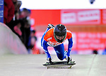 17 December 2010: Svetlana Trunova sliding for Russia, finishes in 7th place at the Viessmann FIBT Skeleton World Cup Championships in Lake Placid, New York, USA. Mandatory Credit: Ed Wolfstein Photo