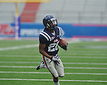 Ole Miss' Korvic Neat (28) at Grove Bowl in Oxford, Miss. on Saturday, April 16, 2011.