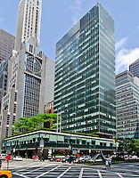 Lever Building, designed by Skidmore, Owings & Merrill LLP, Park Ave, New York, New York