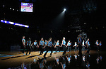 "13 October 2006: UNC's Dance Team entertains the crowd. The University of North Carolina at Chapel Hill Tarheels held their first Men's and Women's basketball practices of the season as part of ""Late Night with Roy Williams"" at the Dean E. Smith Center in Chapel Hill, North Carolina."