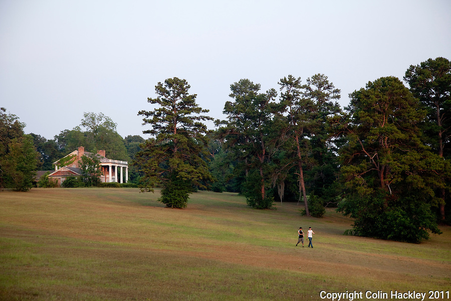 GOVERNOR'S PARK: Open spaces and towering trees offer visitors a variety of places to walk or relax..COLIN HACKLEY PHOTO