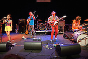 September 6, 2012. Raleigh, NC. Deerhoof performs at the Memorial Auditorium in the Progress Energy Center as part of the 2012 Hopscotch Music Festival in Raleigh, NC.