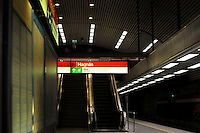 Helsinki, Finlandia.La metropolitana.The subway.