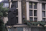 Statue of Black Friar at the Black Friar Pub London UK