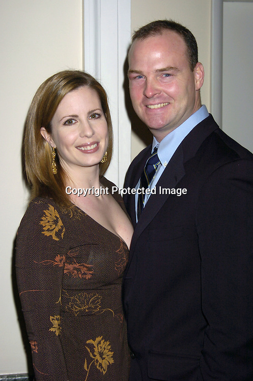 Martha Byrne and husband Michael McMahon..at The Black Tie and Blackjack Casino NIght in support of The Leukemia & Lymphoma Society at The Downtown Association on February 12, 2005. ..Photo by Robin Platzer, Twin Images