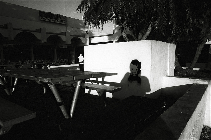 Was it the boy?<br /> From &quot;Miami in Black and White&quot; series<br /> Miami, Kendall area, Jan 2011