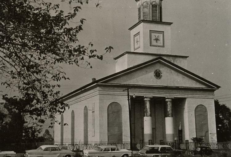 1963 July 30..Conservation.Downtown North (R-8)..Bank Street Baptist Church.501 Bank Street..PHOTO CRAFTSMEN INC..NEG# 52-034.NRHA# 955-A..