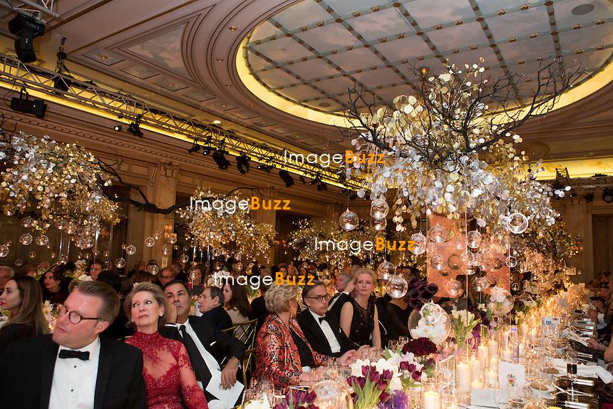 Atmosph&egrave;re : &quot; The Best &quot; 40th Edition &agrave; l'h&ocirc;tel George V.<br /> France, Paris, 27 janvier 2017.<br /> ' The Best ' 40th Edition at the George V hotel in Pais.<br /> France, Paris, 27 January 2017