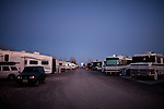 The Desert Rose RV Park is filled with seasonal &quot;workampers&quot; for the Amazon warehouse in Fernley, Nevada, December 13, 2011. CREDIT: Max Whittaker/Prime for The Wall Street Journal.AMAZONTOWN