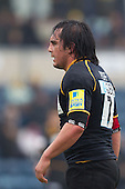 Jonathon Poff of London Wasps RFC - London Wasps RFC vs Saracens RFC - Aviva Premiership Rugby at Adams Park, Wycombe Wanderers FC - 12/02/12 - MANDATORY CREDIT: Ray Lawrence/TGSPHOTO - Self billing applies where appropriate - 0845 094 6026 - contact@tgsphoto.co.uk - NO UNPAID USE.