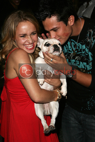 Hayden Panettiere and friend<br />at the Teen Vogue Young Hollywood Party. Sunset Tower, Hollywood, CA. 09-20-06<br />Jason Kirk/DailyCeleb.com 818-249-4998