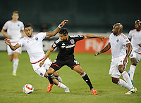 Washington, DC - August 22, 2015:  D.C. United lost to the San Jose Earthquakes 2-0 during a Major League Soccer (MLS) match at RFK Stadium.