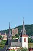 Basilika und Burg Klopp in Bingen