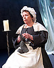 The Restoration of Nell Gwyn by Steve Trafford<br /> at Park Theatre, London, Great Britain <br /> 27th January 2016 <br /> <br /> <br /> <br /> Angela Curran as Margary (Maid)  <br /> <br /> Photograph by Elliott Franks <br /> Image licensed to Elliott Franks Photography Services