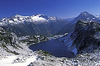 Hidden Lake, Hidden Lake Trail, North Cascades National Park, Cascade Mountains, Washington