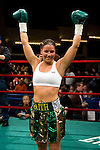 Mar 16, 2007; New York, NY, USA;  Maureen Shea defeats Eva Lidia Silva via 3rd round TKO at the Theater at Madison Square Garden.