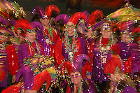 Mardi Gras celebration and activities at Lake Charles, Louisiana. The celebration in Lake Charles is much more family and home town oriented than that in New Orleans
