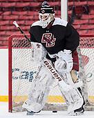 Ian Milosz (BC - 29) - The Boston College Eagles practiced at Fenway on Friday, January 6, 2017, in Boston, Massachusetts.