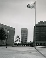 1969 July 13..Historical...Downtown South (R-9)..Virginia National Bank from Civic Center Complex..Millard Arnold.NEG# MDA69-52-6.NRHA#..