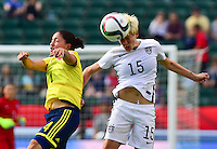 USWNT vs Colombia, June 22, 2015